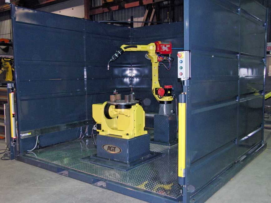 Generic Robotic Welding Cell