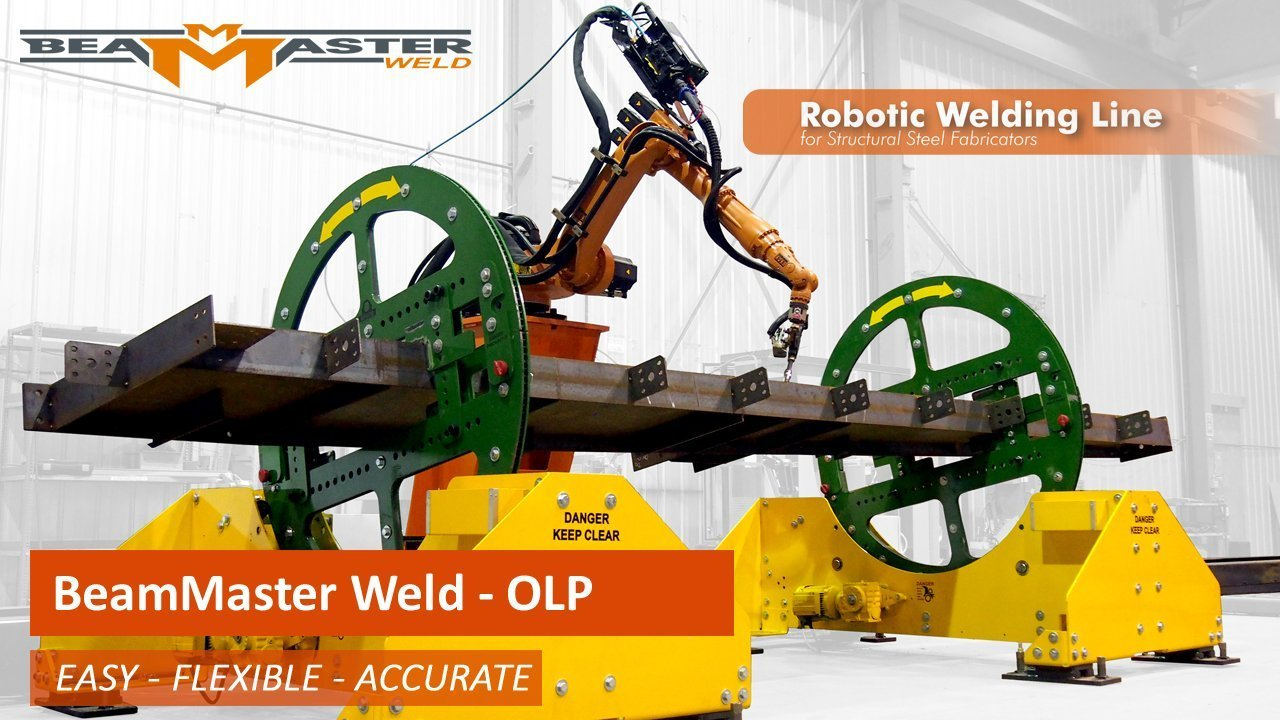 Robotic Welding LIne for Steel Beam Welding