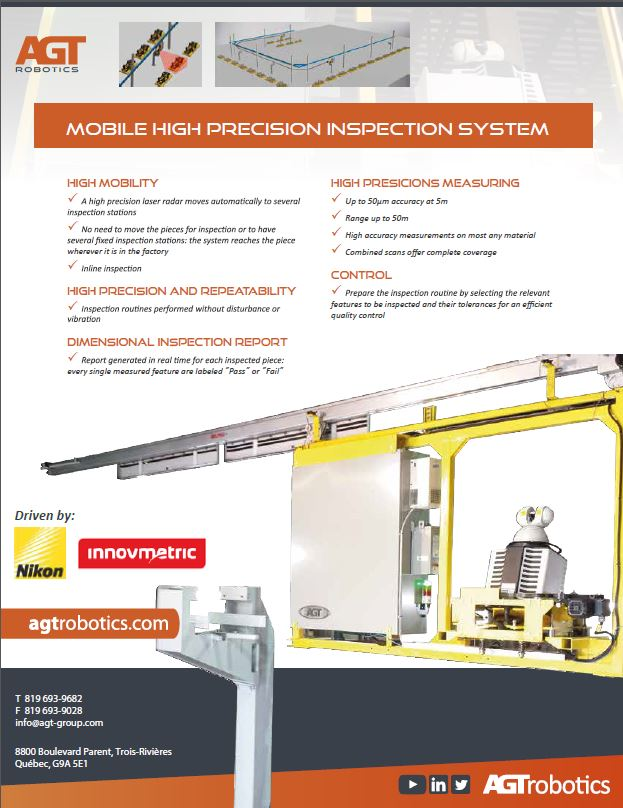 Mobile high precision inspection system