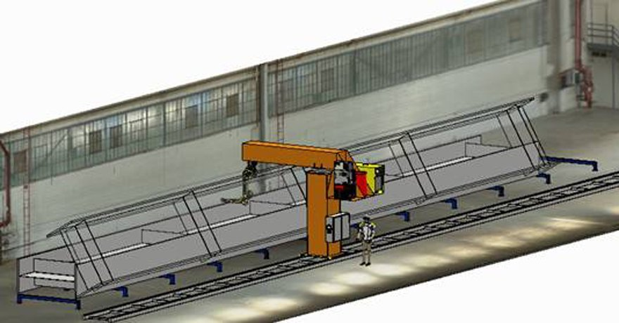 Robotic-Girder-Gouging-&-We