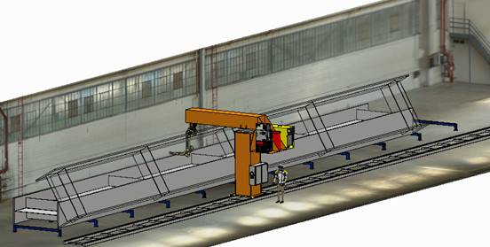 Robotic Girder Gouging & Welding