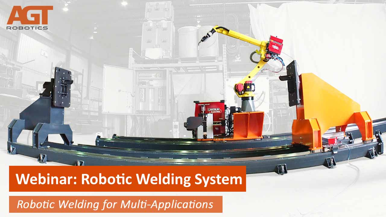 Robotic Welding for multiple applications
