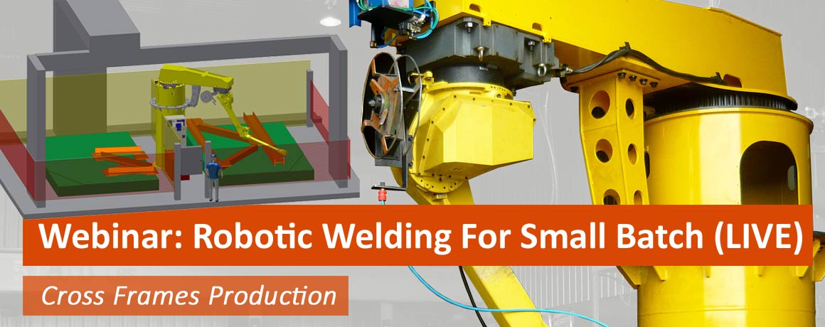 Robotic welding System For Cross Frame Production