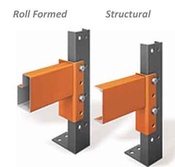 pallet racking - roll formed vs structural