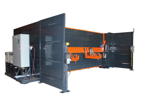 Robotic System to weld pallet rack beams to beam connectors