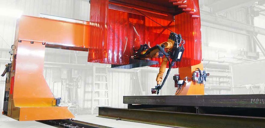 Robotic Welding on Gantry