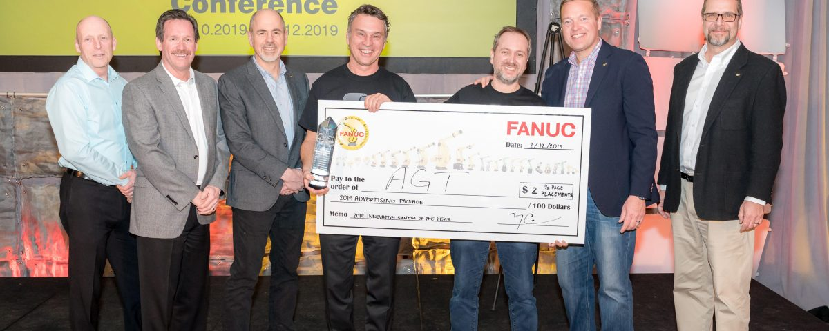 AGT Robotics wins the 2019's Award of the Fanuc Innovative System of
