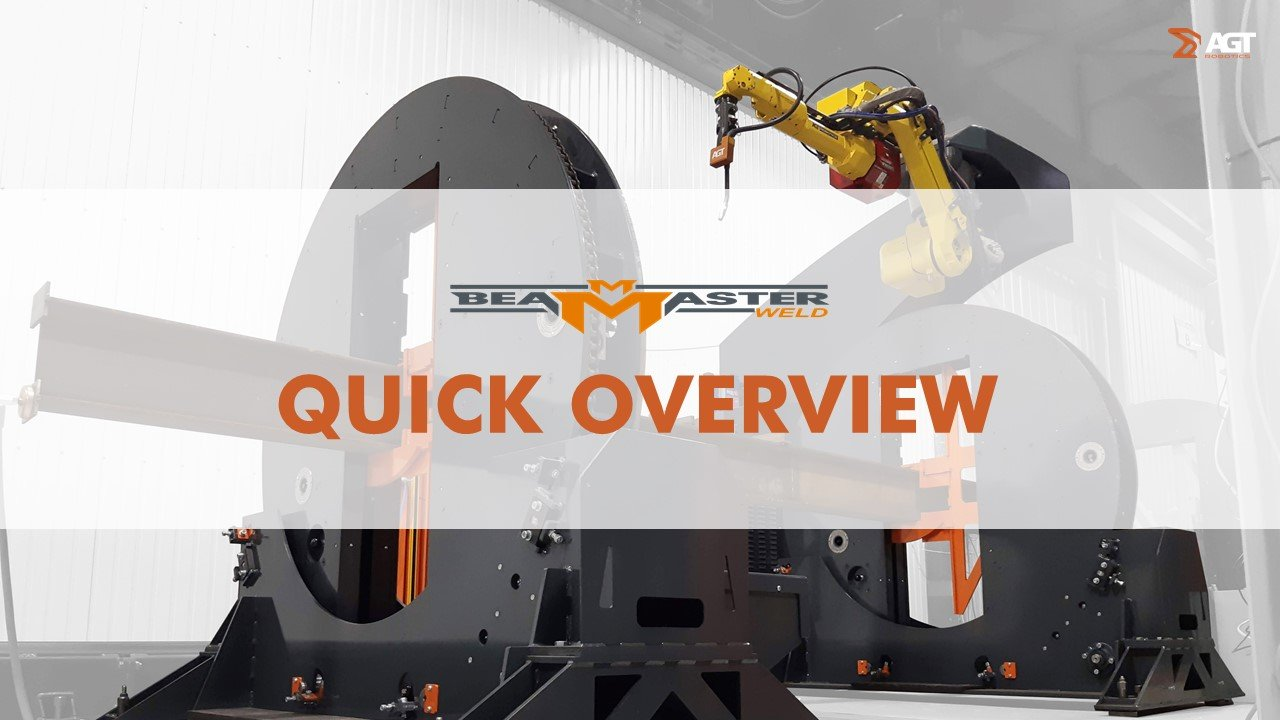 Video BeamMaster - Robotic Welding for Structural Steel Fabricator